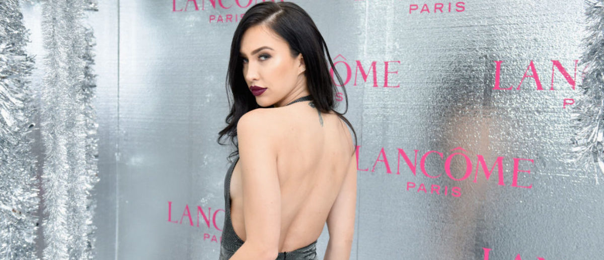 WEST HOLLYWOOD, CA - NOVEMBER 29: Bre Tiesi-Manziel attends Lancôme x Vogue Holiday Event at Delilah West Hollywood on November 29, 2018 in West Hollywood, California. (Photo by Vivien Killilea/Getty Images for Vogue x Lancôme)