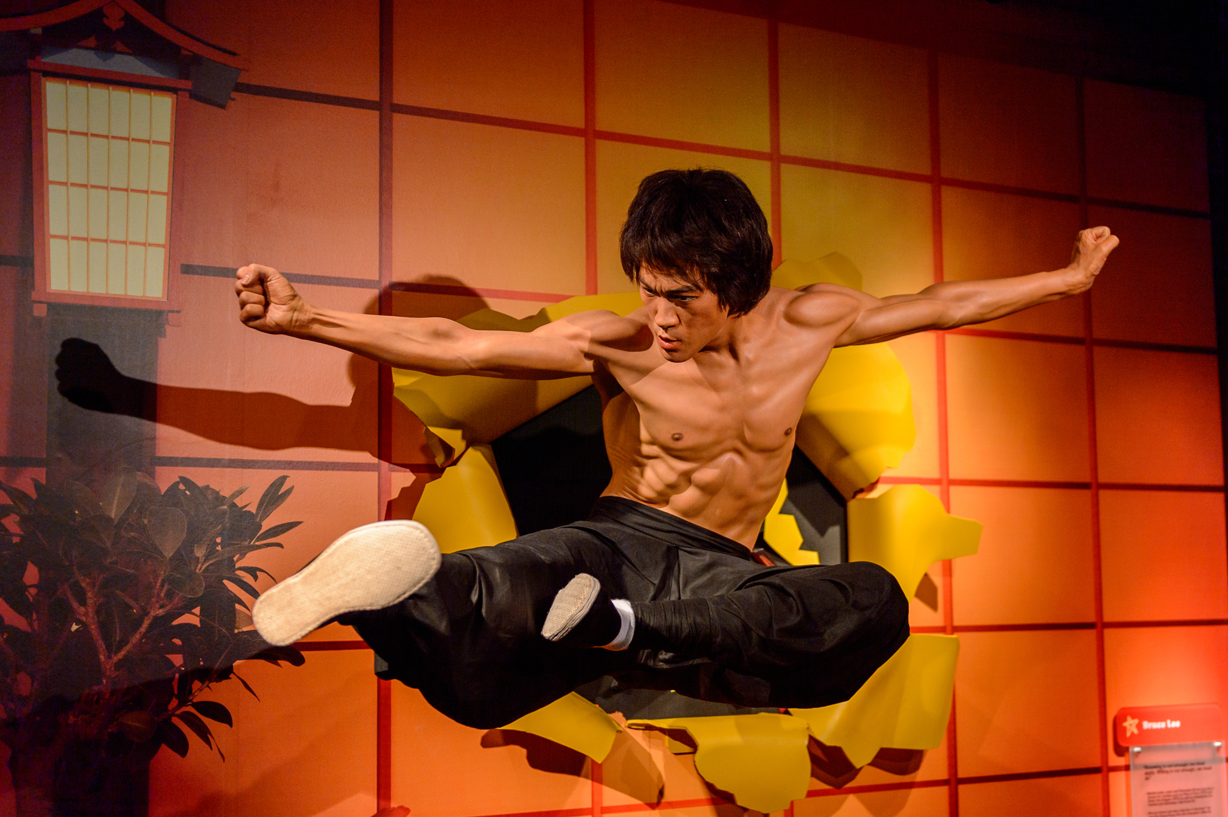 Pictured is Bruce Lee, who made nunchucks famous. SHUTTERSTOCK/ Anton_Ivanov