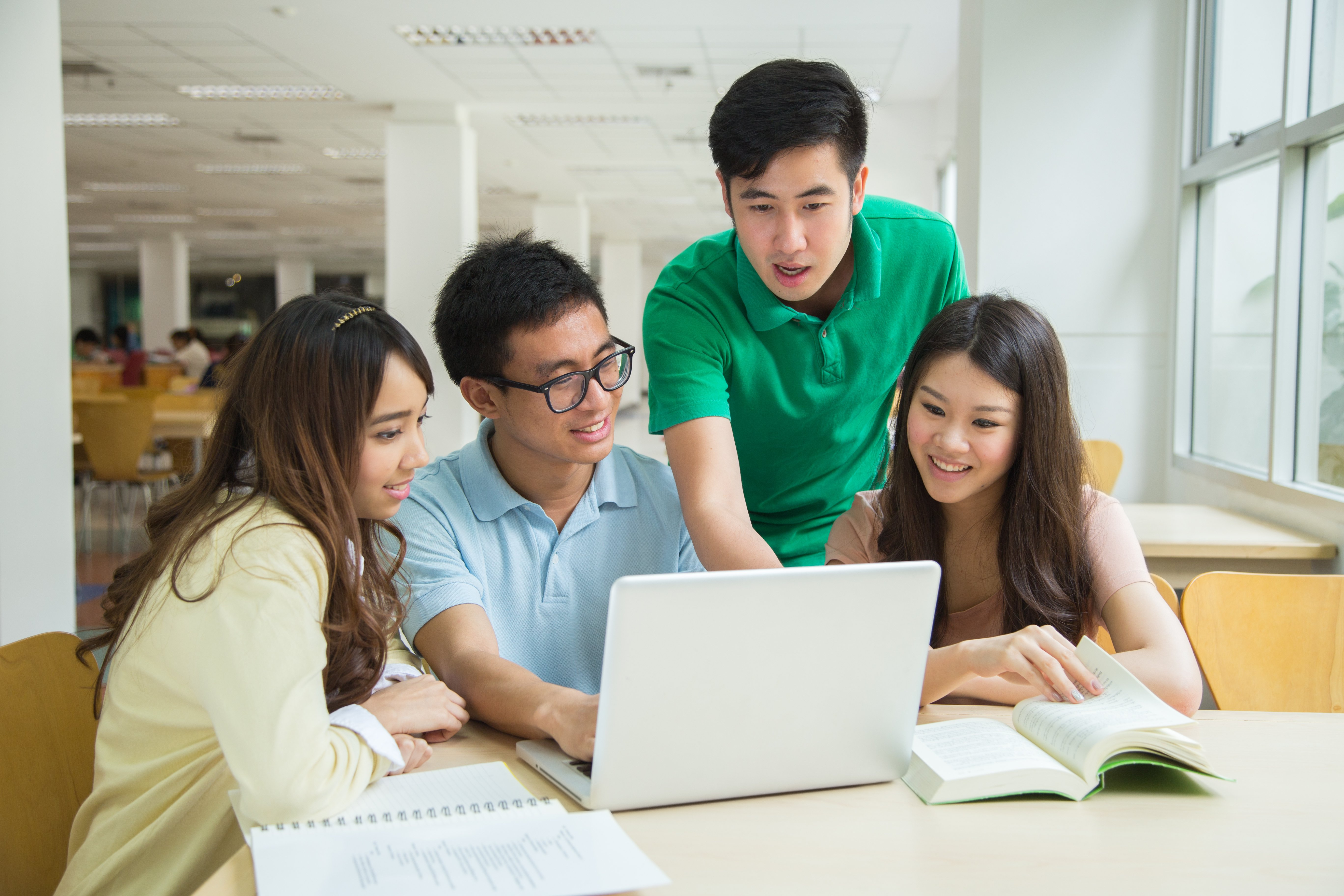 Pictured are Chinese students. SHUTTERSTOCK/ Vitchanan Photography