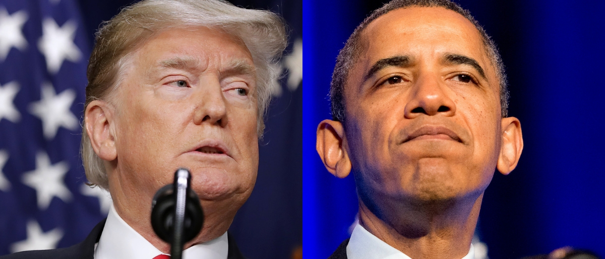 Both the Trump and Obama administrations have experienced partial government shutdowns. Chip Somodevilla/Getty Images and Ron Sachs-Pool/Getty Images