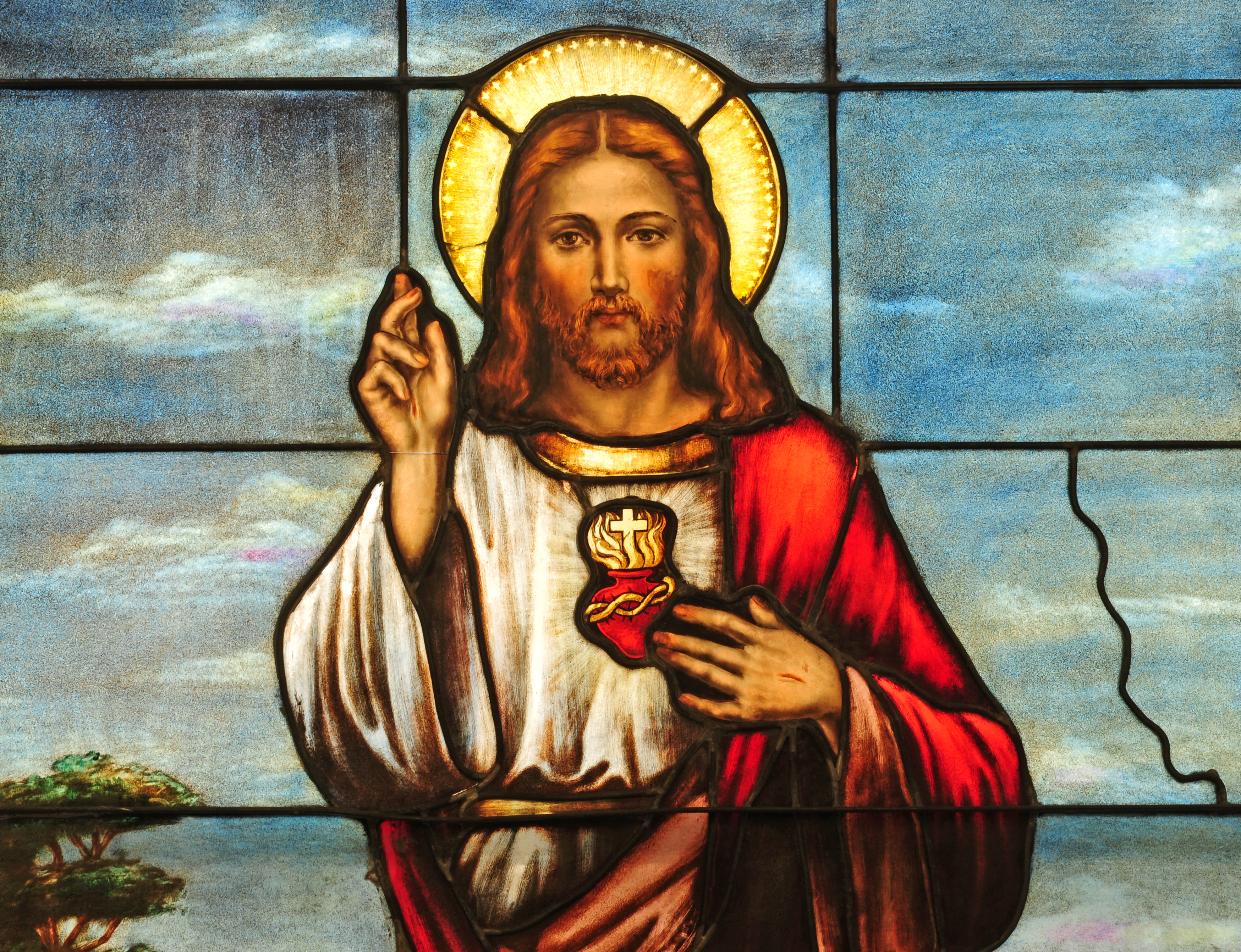 Pictured is Jesus Christ. SHUTTERSTOCK/ Nancy Bauer