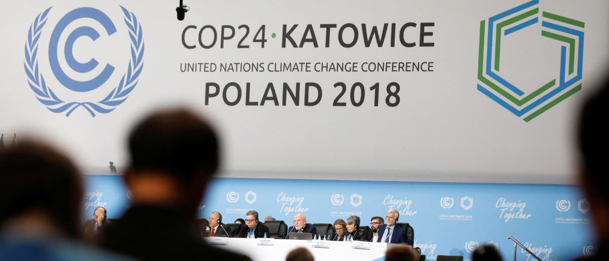 Participants take part in the plenary session during COP24 U.N. Climate Change Conference 2018 in Katowice, Poland December 4, 2018. REUTERS/Kacper Pempel