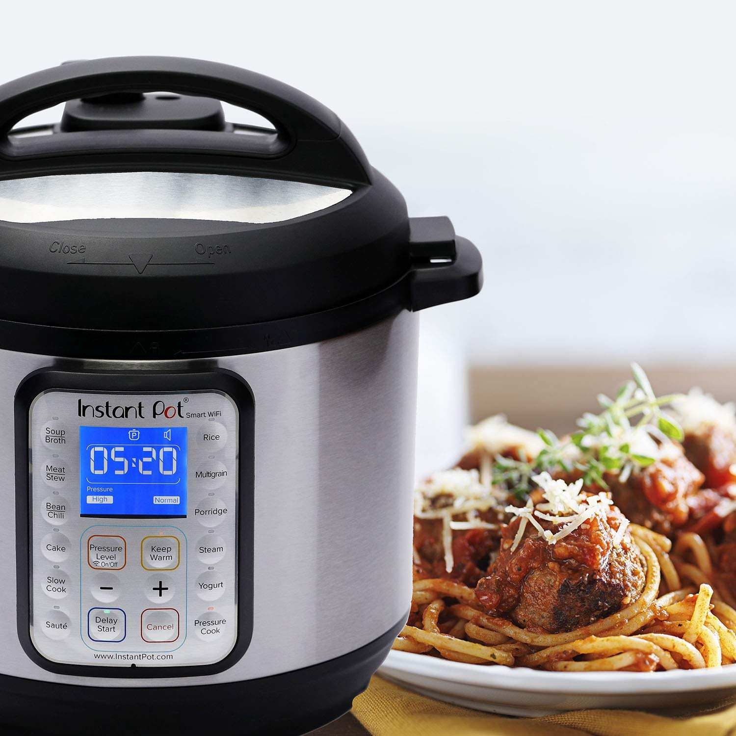 Normally $150, this smart Instant Pot is 20 percent off (Photo via Amazon)
