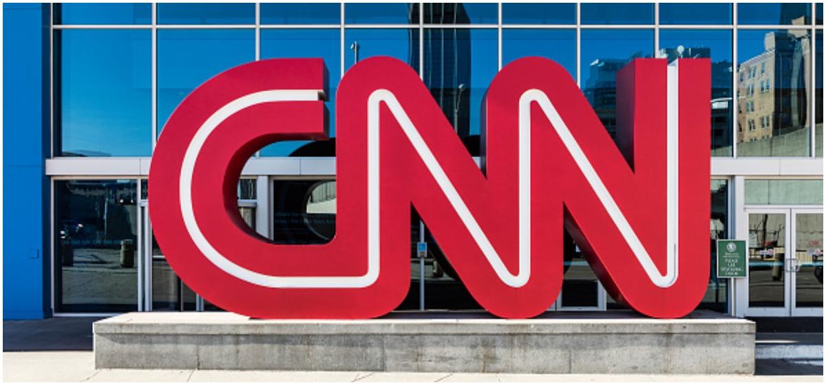 CNN World Headquarters. (Photo by John Greim/LightRocket via Getty Images)