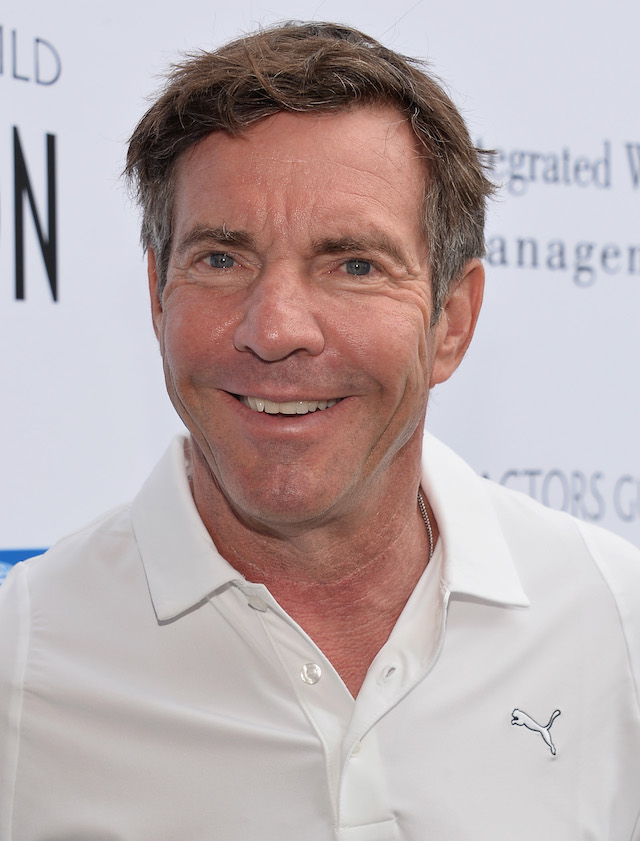 Dennis Quaid at Lakeside Golf Club on June 10, 2013 in Burbank, California. (Photo: Getty Images)