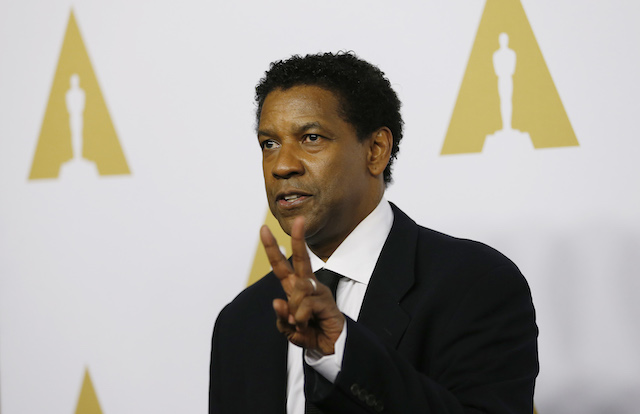 Actor Denzel Washington arrives at the 89th Oscars Nominee Luncheon in Beverly Hills, California, U.S., February 6, 2017. REUTERS/Mario Anzuoni