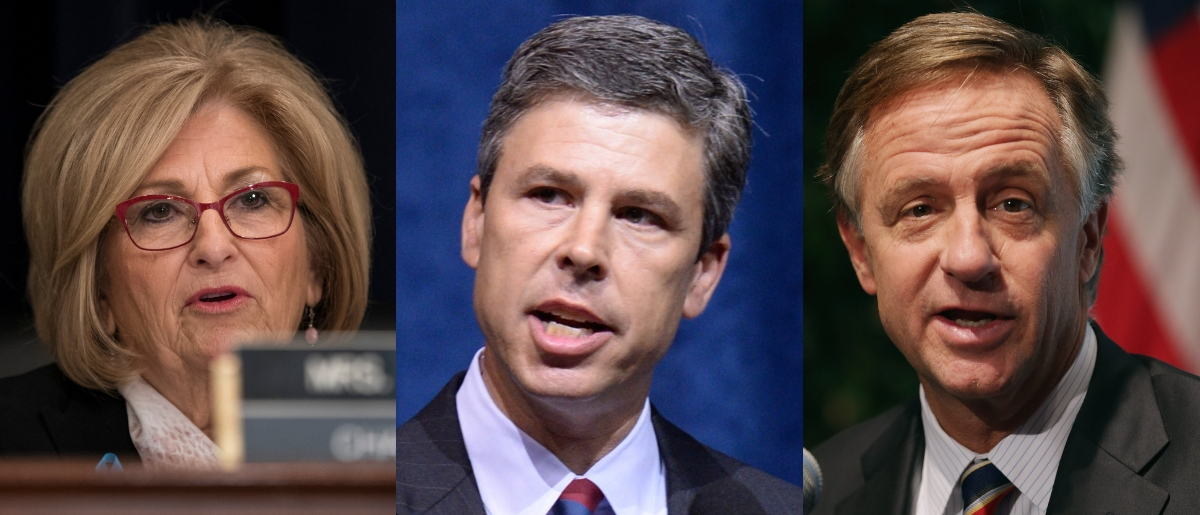 Rep. Diane Black, Chattanooga mayor Andy Berke and Gov. Bill Haslam (all of Tennessee) could compete for Sen. Lamar Alexander's open seat in 2020. Drew Angerer/Getty Images, Jason Davis/Getty Images and Chip Somodevilla/Getty Images