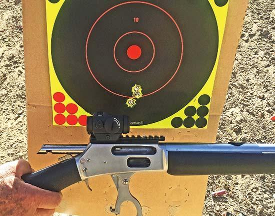Gun Test: Marlin's 1895 SBL Z Trapper  45-70 | The Daily Caller