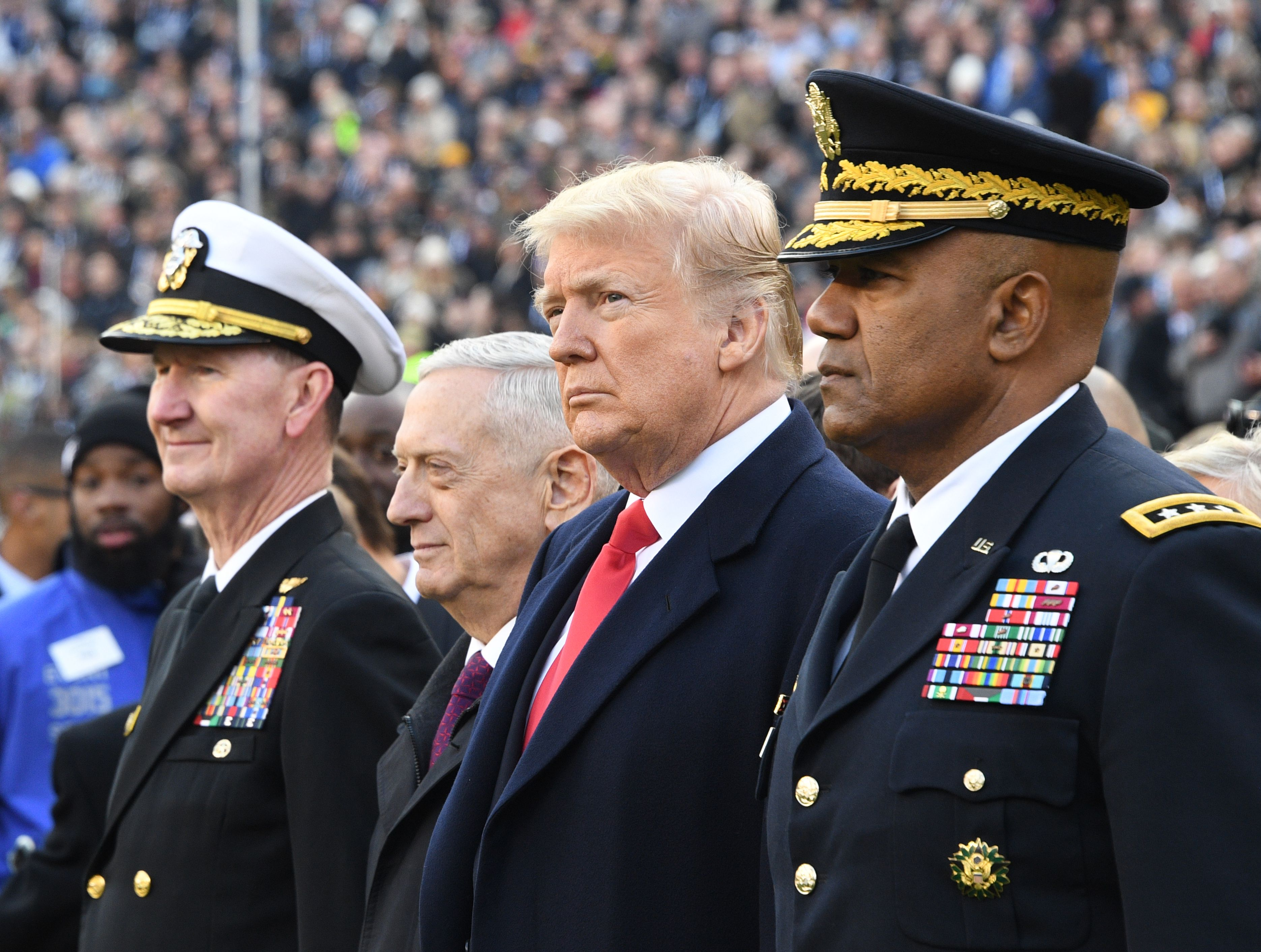 Army-Navy Game's Stunning National Anthem Rendition Puts Every Kneeling NFL Player To Shame