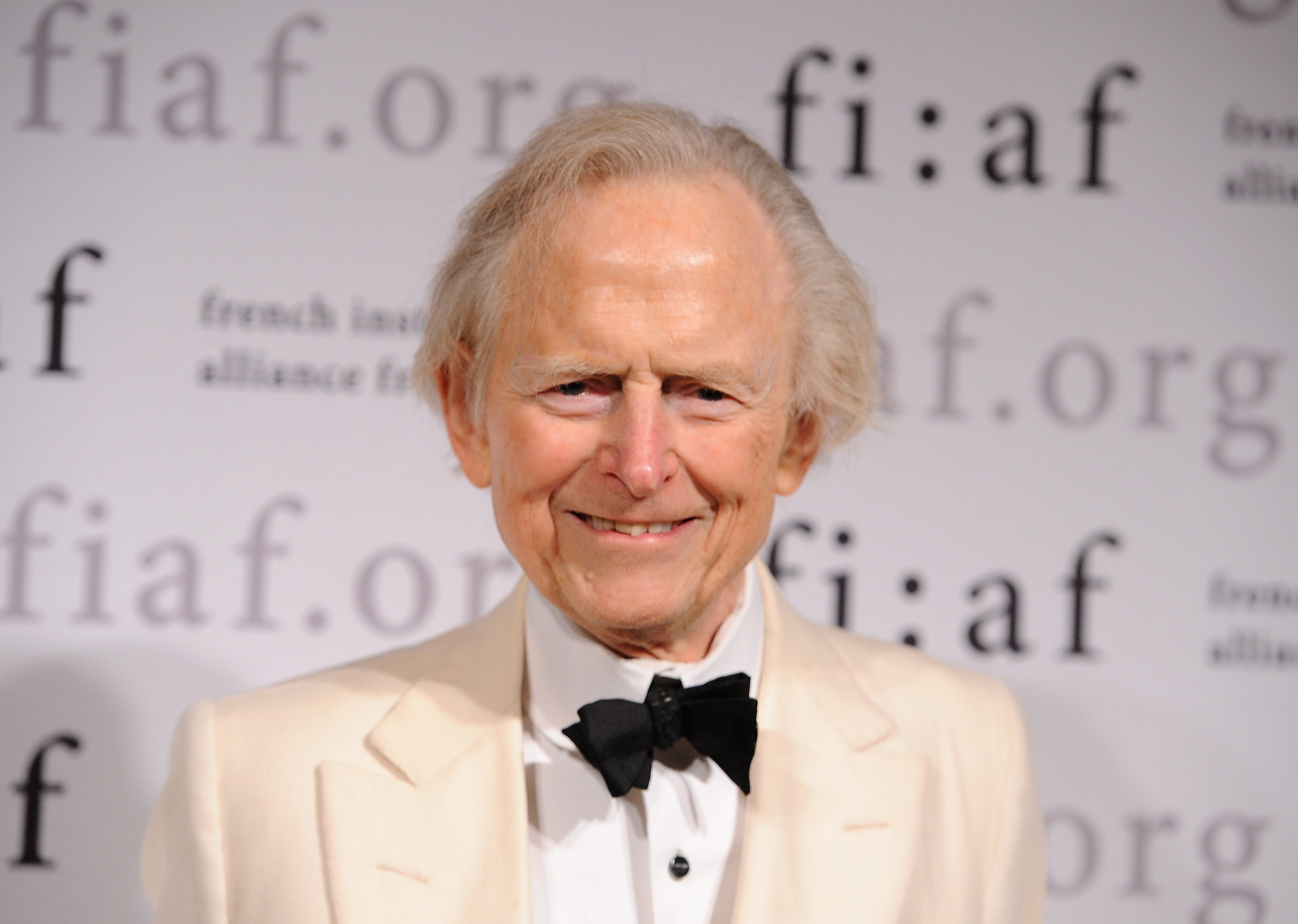 Author Tom Wolfe attends the 2012 Trophee Des Arts Gala at The Plaza Hotel on November 30, 2012 in New York City. (Photo by Fernando Leon/Getty Images)