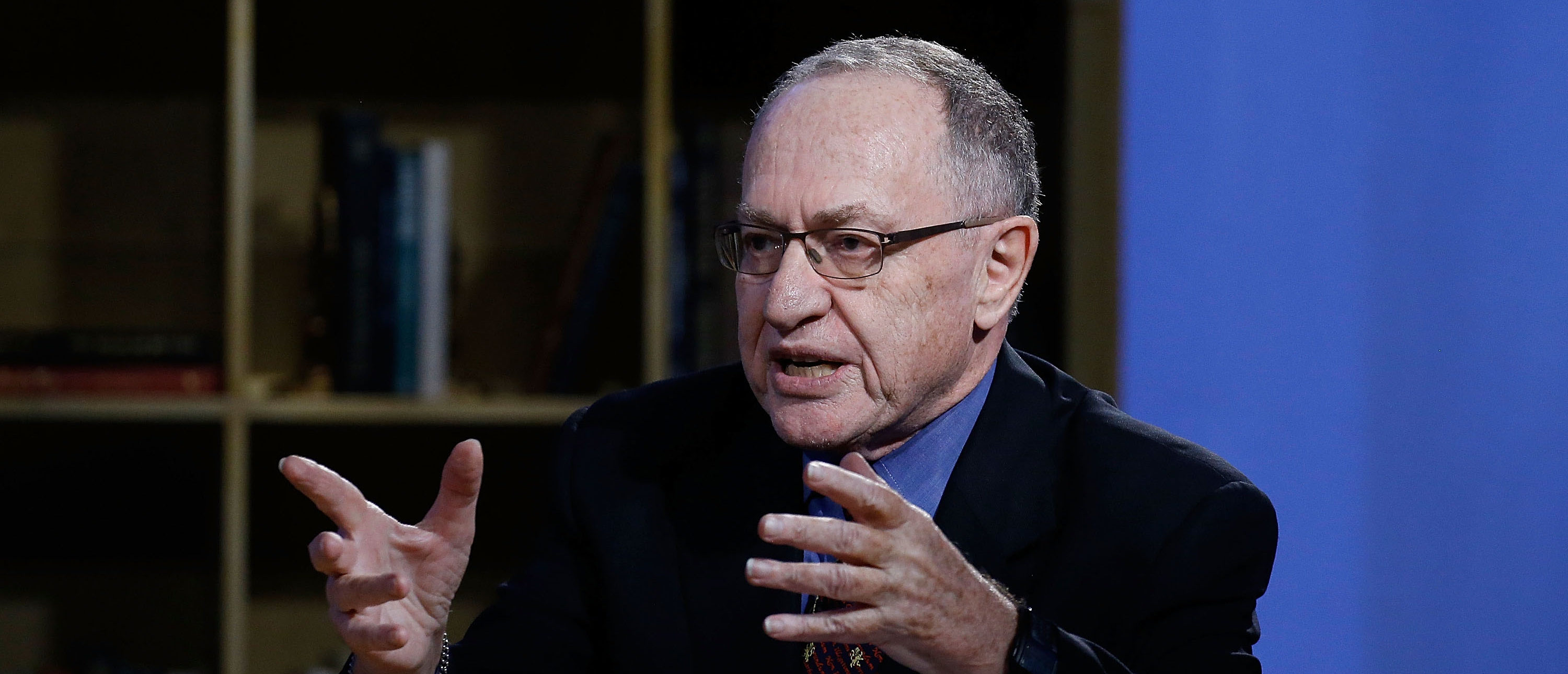 """Alan Dershowitz attends Hulu Presents """"Triumph's Election Special"""" produced by Funny Or Die at NEP Studios on February 3, 2016 in New York City. (Photo by John Lamparski/Getty Images for Hulu)"""