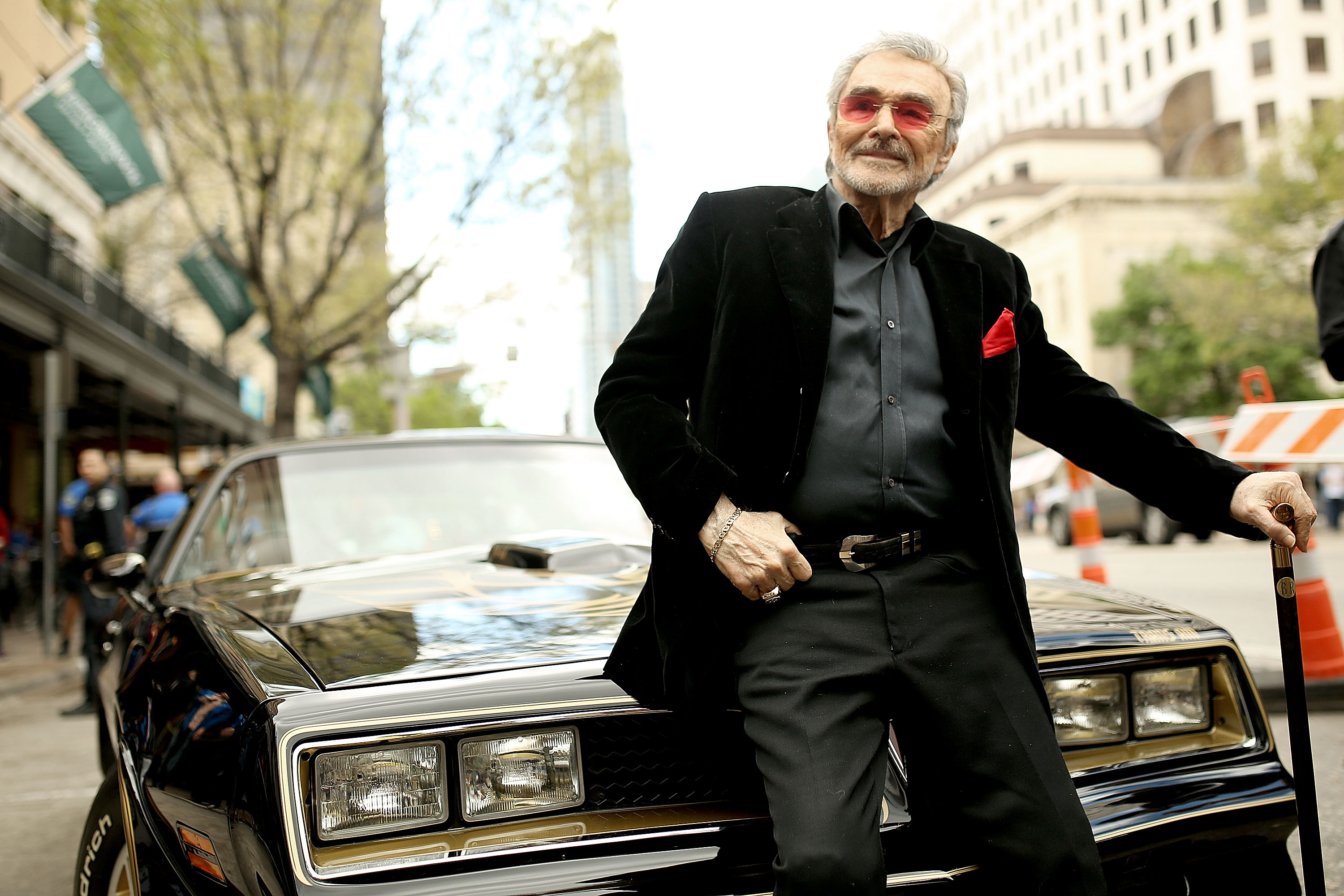 "Actor Burt Reynolds attends the screening of ""The Bandit"" during the 2016 SXSW Music, Film + Interactive Festival at Paramount Theatre on March 12, 2016 in Austin, Texas. (Photo by Mike Windle/Getty Images for SXSW)"