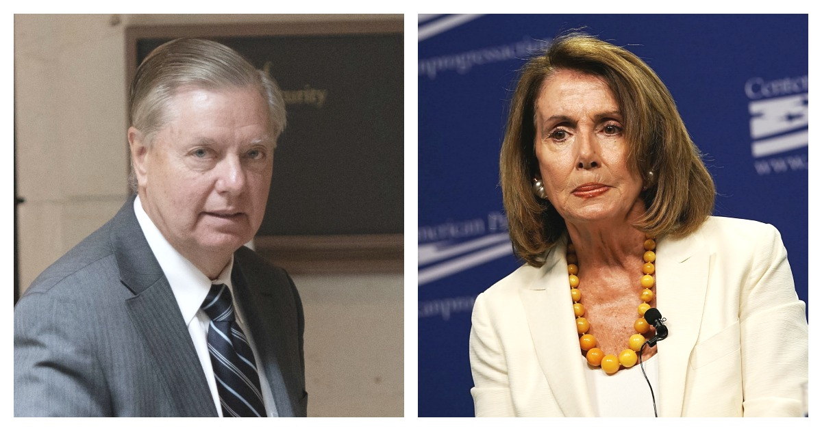 Lindsey Graham Writes An Open Letter To Nancy Pelosi About The Border Wall