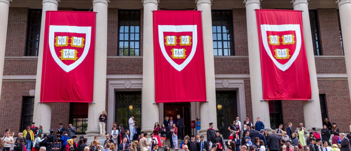 A Kansas teen will graduate from Harvard and high school. SHUTTERSTOCK/ f11photo