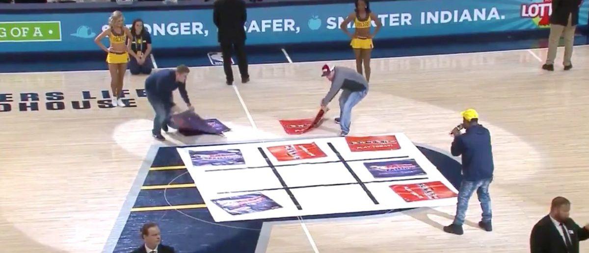 Indiana Pacers (Credit: Screenshot/Twitter Video Bleacher Report)