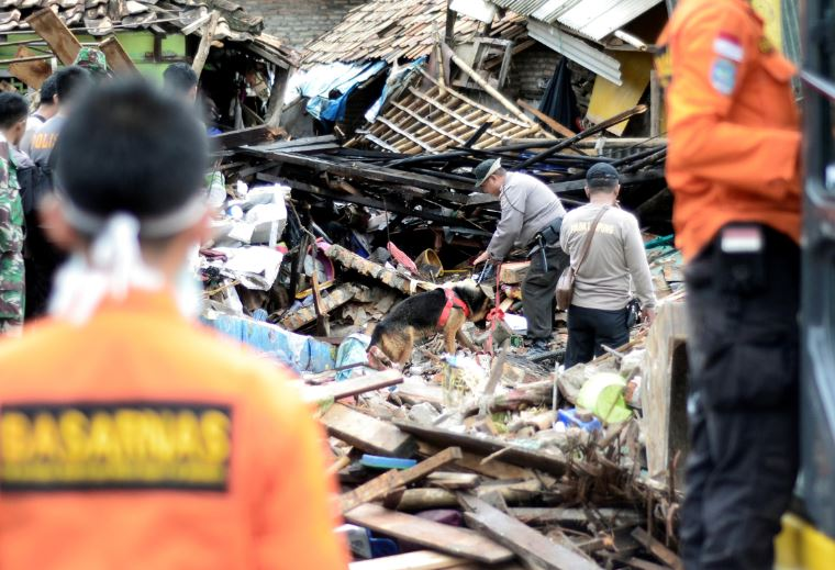 Indonesian Tsunami's Death Toll Rises to 222 as 848 People Are Injured & 28 People Are Missing