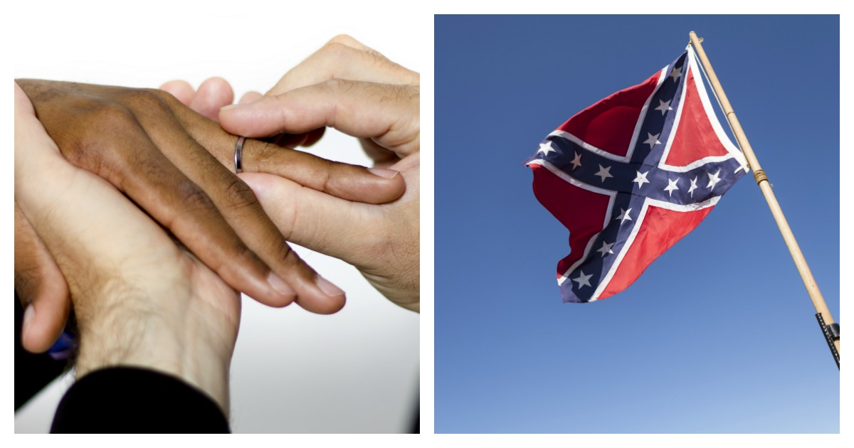 A Virginia high school is looking into changing a name that is associated with the Confederacy. Left, SHUTTERSTOCK/ Rommel Canlas/ Right, SHUTTERSTOCK/ Neil Lockhart