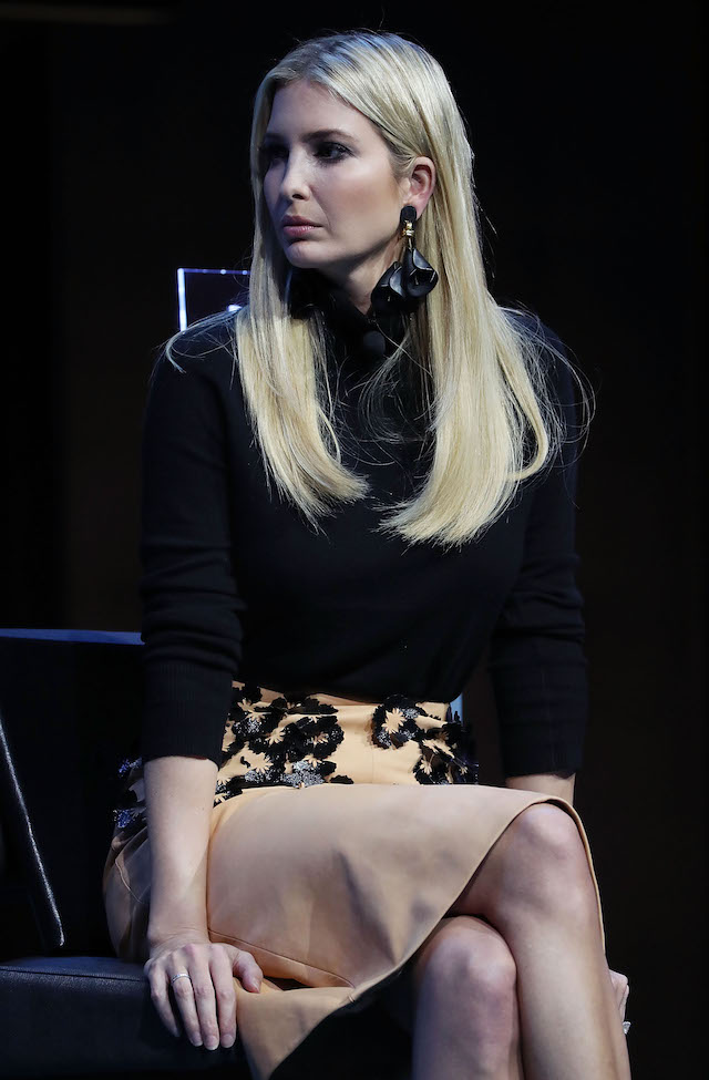 Ivanka Trump on December 6, 2018 in Washington, DC.(Photo: Getty Images)