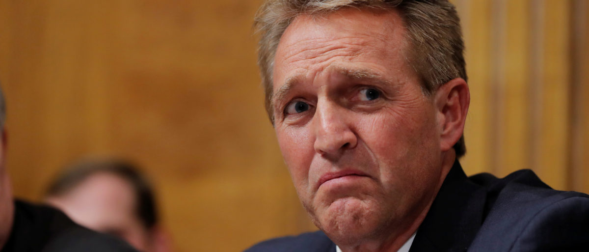 Daily Caller: REPORT: Jeff Flake In Talks With CBS