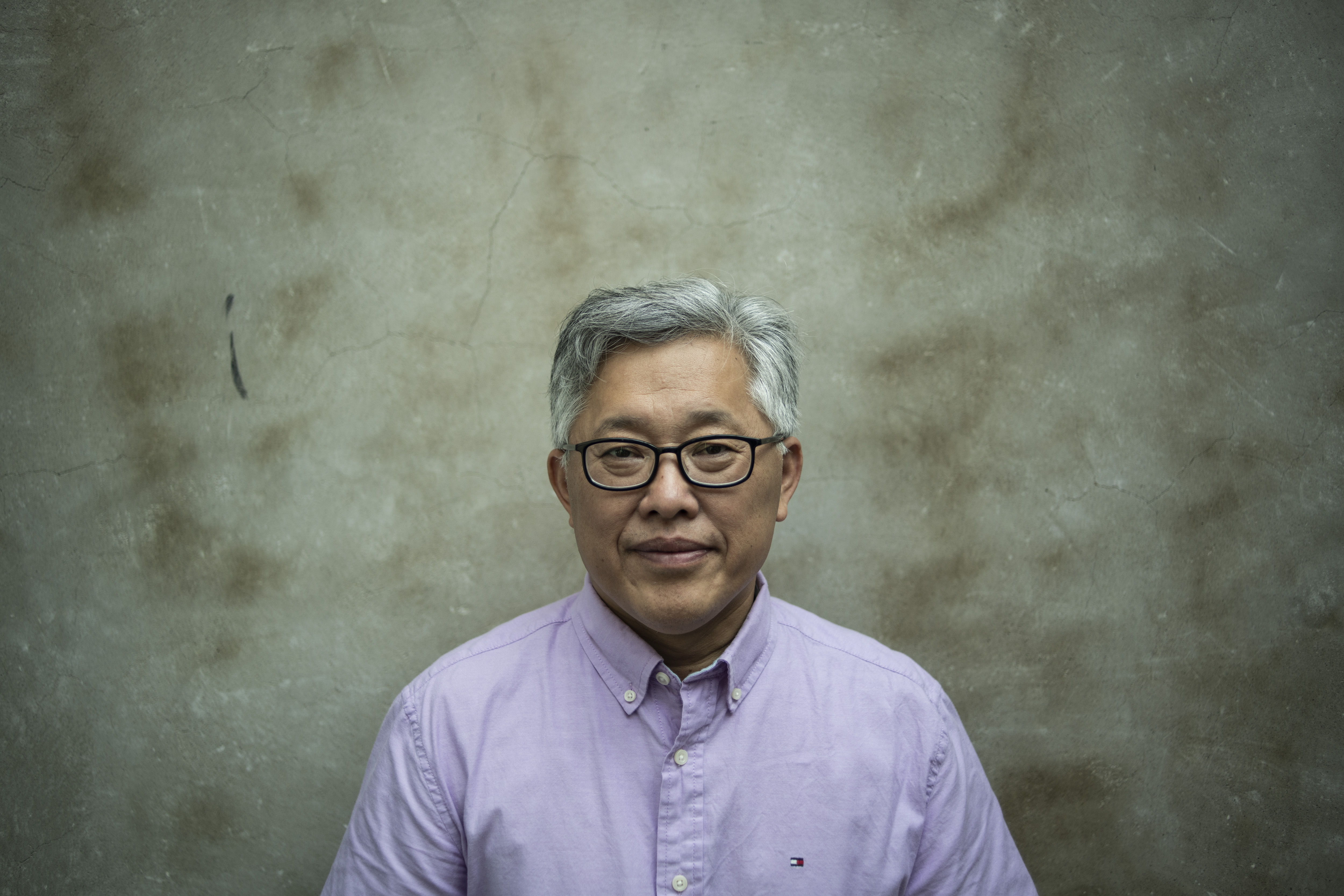 "This photo taken on September 12, 2018 shows Jin Mingri, head pastor of the Zion church, posing in Beijing days after authorities shut down one of China's largest ""underground"" Protestant churches. - A Chinese Protestant pastor is vowing to keep preaching to his flock despite the closure of his prominent underground church in Beijing, defying the government's intensifying pressure on religious groups. ( FRED DUFOUR/AFP/Getty Images)"