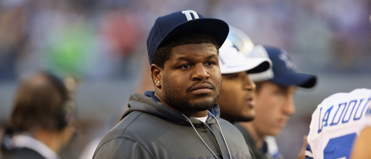 ARLINGTON, TX - DECEMBER 16: Dallas Cowboys player, Josh Brent attends a game against the Pittsburgh Steelers at Cowboys Stadium on December 16, 2012 in Arlington, Texas. (Photo by Ronald Martinez/Getty Images)