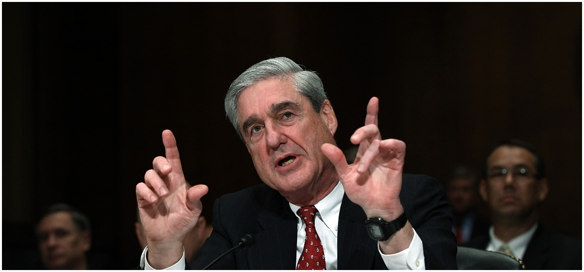 """FBI Director Robert Mueller III testifies before the Senate Judiciary Committee during a oversight hearing on Capitol Hill December 14, 2011 in Washington, DC. Mueller testified on the topic of """"Oversight of the Federal Bureau of Investigation"""". (Photo by Win McNamee/Getty Images)"""