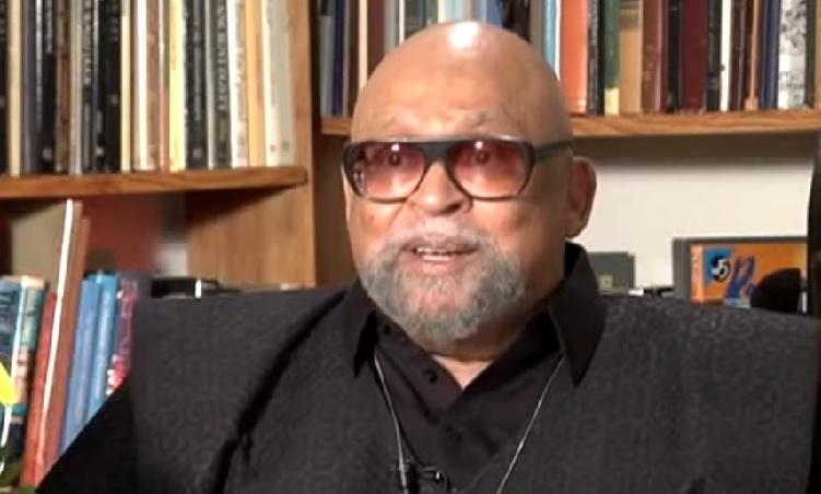 Maulana Karenga after changing his name from Ron Everett YouTube screenshot/Western Illinois University