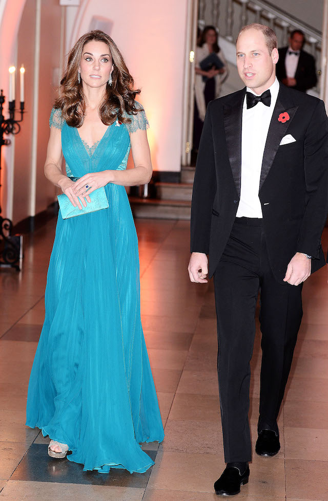 Prince William, Duke of Cambridge and Catherine, Duchess of Cambridge attend The Tusk Conservation Awards at Banqueting House on November 08, 2018 in London, England. (Photo by Jeff Spicer - WPA Pool/Getty Images)