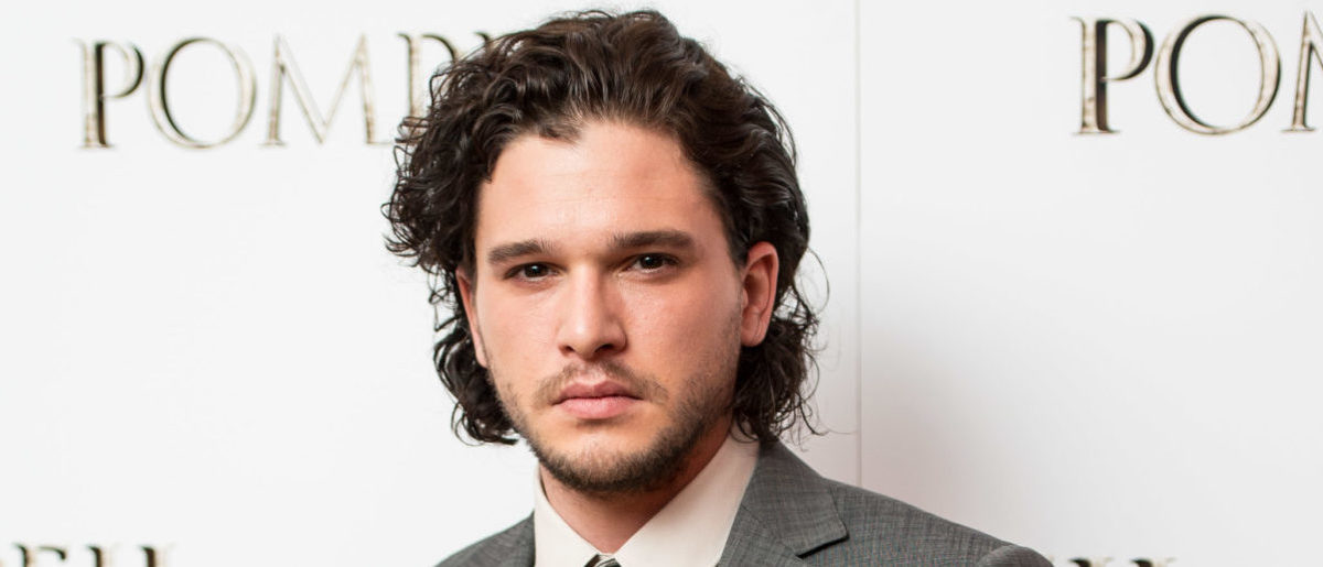 "LONDON, ENGLAND - APRIL 28: Kit Harrington attends a VIP screening of ""Pompeii"" at Vue West End on April 28, 2014 in London, England. (Photo by Ian Gavan/Getty Images)"
