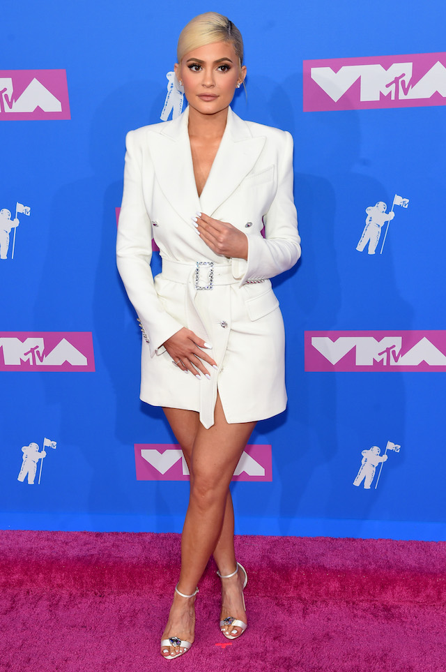 Kylie Jenner attends the 2018 MTV Video Music Awards at Radio City Music Hall on August 20, 2018 in New York City. (Photo by Jamie McCarthy/Getty Images)