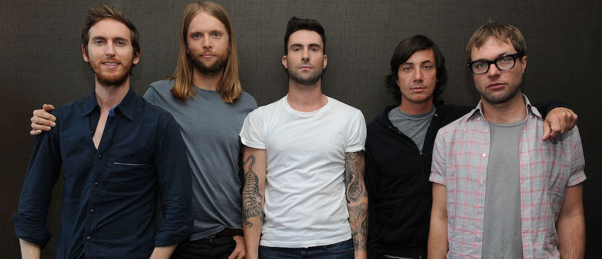 Maroon 5 at the VEVO Summer Sets Concert Series at the Empire Hotel on July 1, 2010 in New York City. (Photo by Jason Kempin/Getty Images for VEVO)