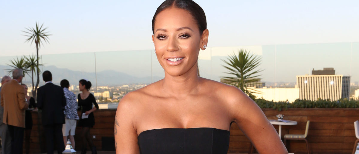 BEVERLY HILLS, CA - JUNE 04: Singer Mel B. attends the Los Angeles Confidential celebration of the Women of Influence issue with Robin Wright on June 4, 2014 in Beverly Hills, California. (Photo by Chelsea Lauren/Getty Images for Los Angeles Confidential)