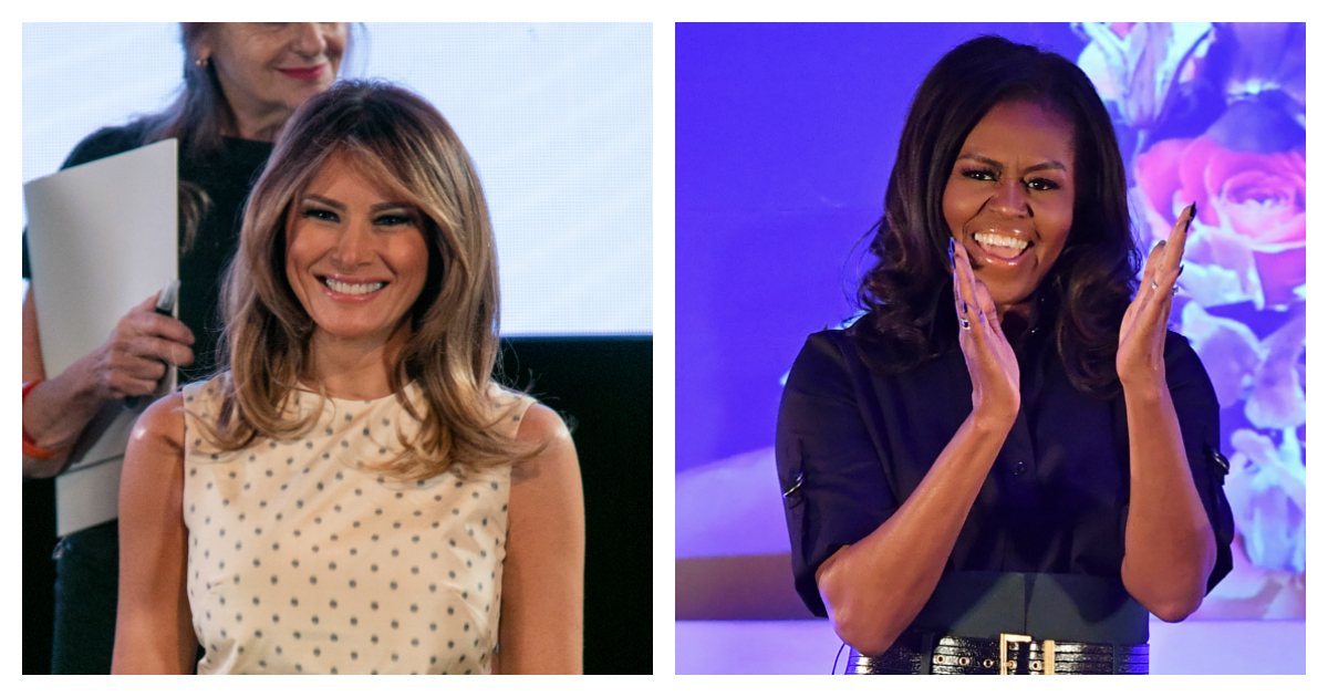 Michelle Obama Mocks Melania Trump For Doing The Same Thing She Did In 2009