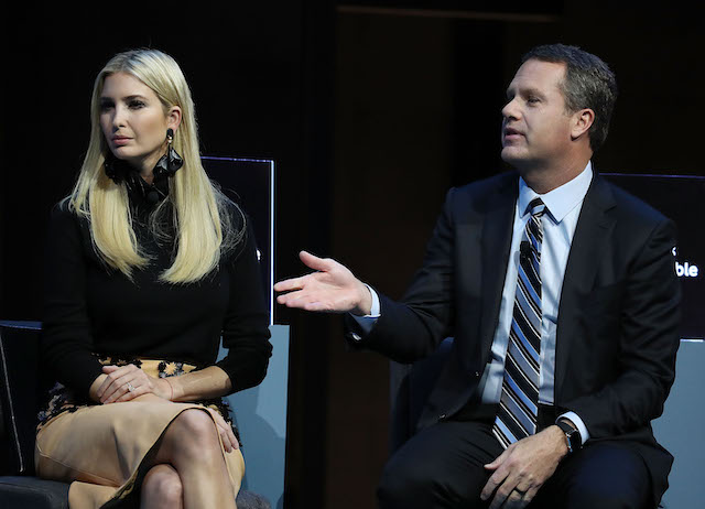 Ivanka Trump on December 6, 2018 in Washington, DC. (Photo: Getty Images)