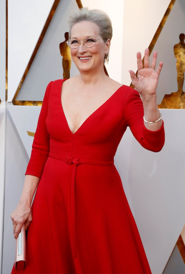 90th Academy Awards - Oscars Arrivals - Hollywood, California, U.S., 04/03/2018 - Meryl Streep wears Dior. REUTERS/Mario Anzuoni