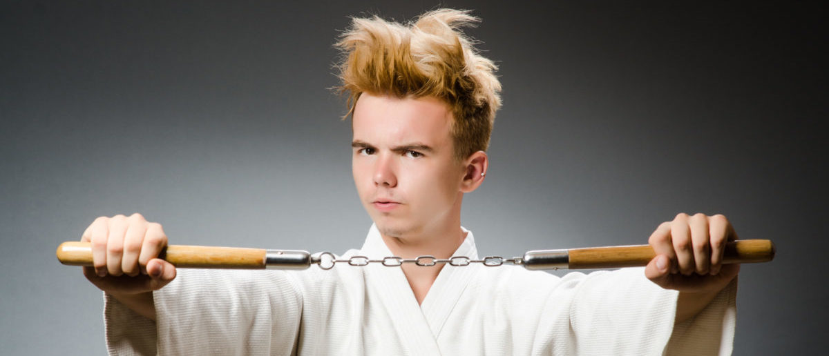 New Yorkers have the right to bear nunchucks. SHUTTERSTOCK/ Elnur