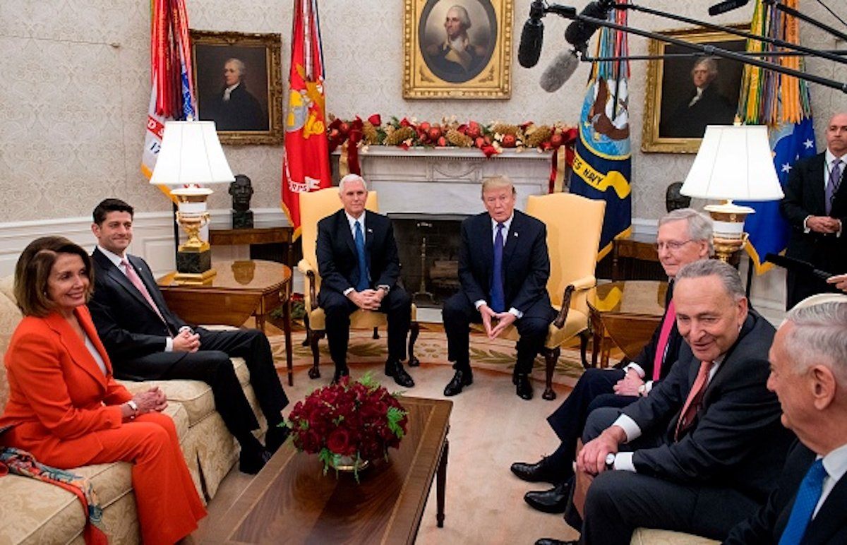 Trump Says Pelosi, Not Schumer, Running Show On Capitol Hill