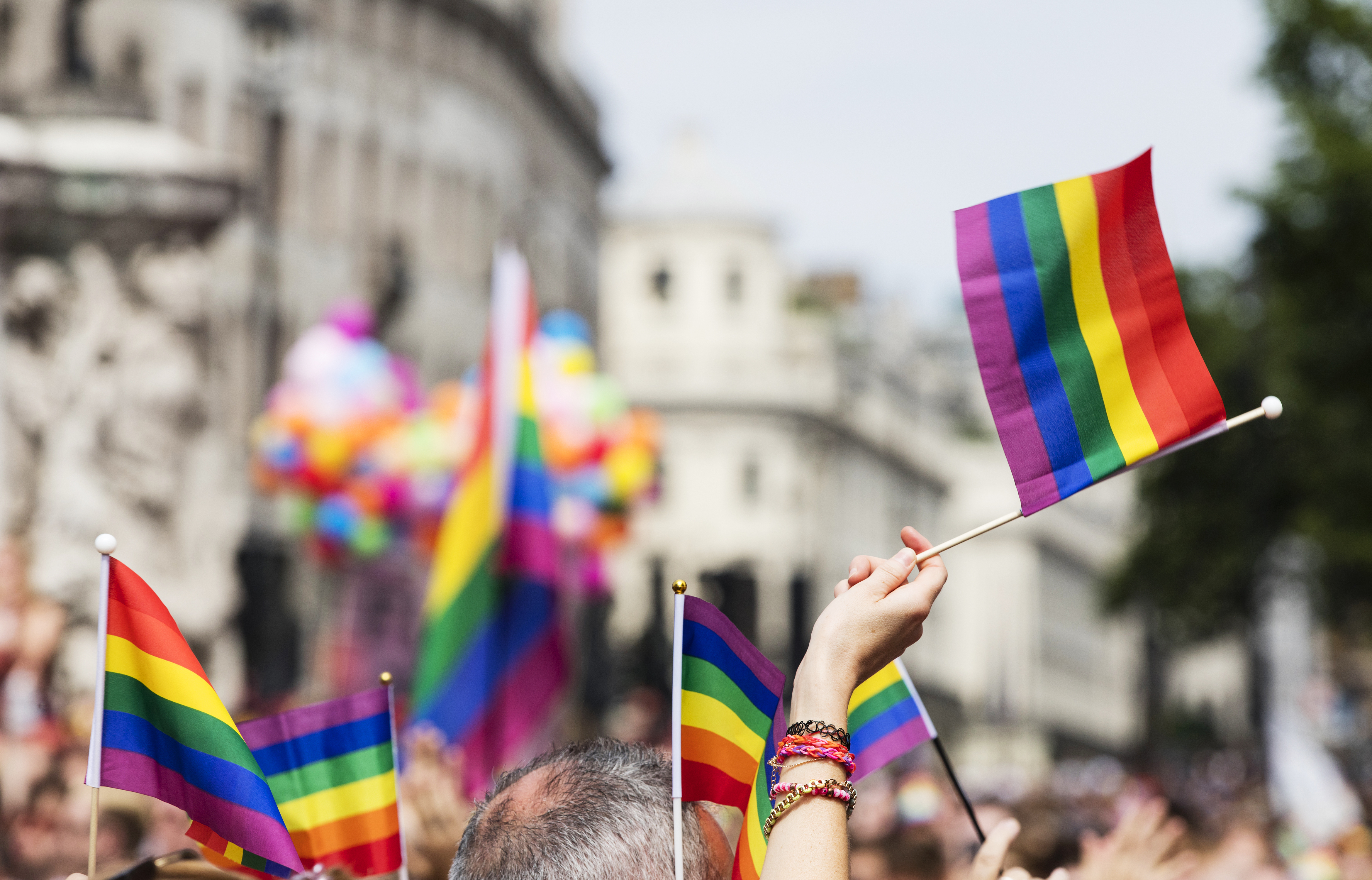 Pictured are pride flags. SHUTTERSTOCK/ Ink Drop