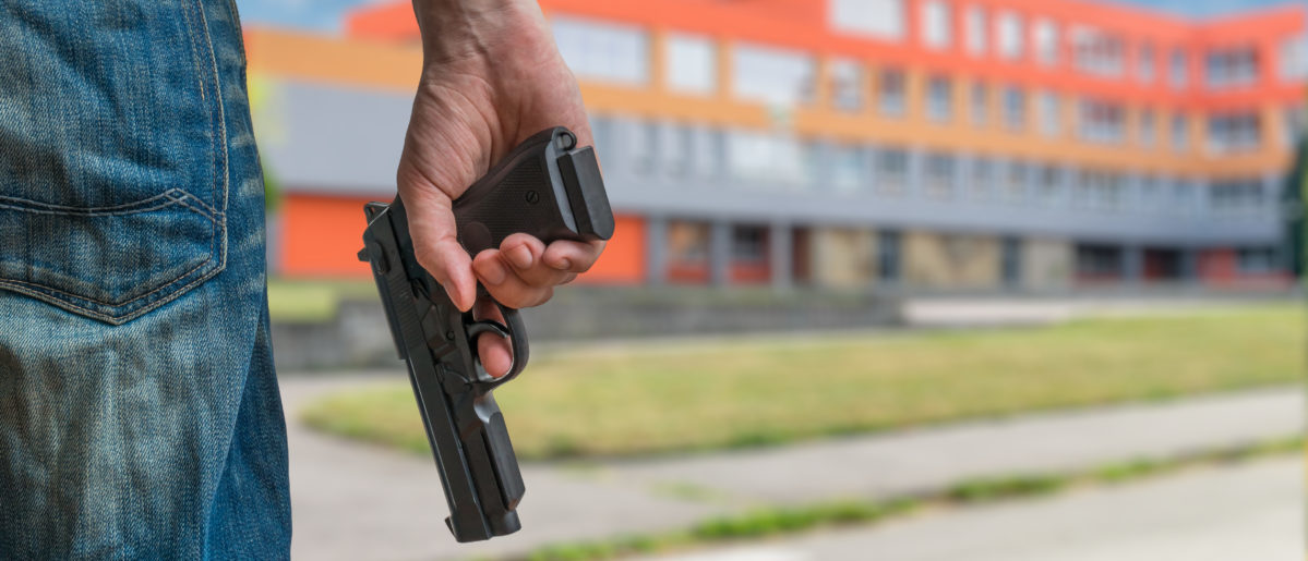 An Indiana school prevented what could have been a devastating school shooting. SHUTTERSTOCK/ vchal