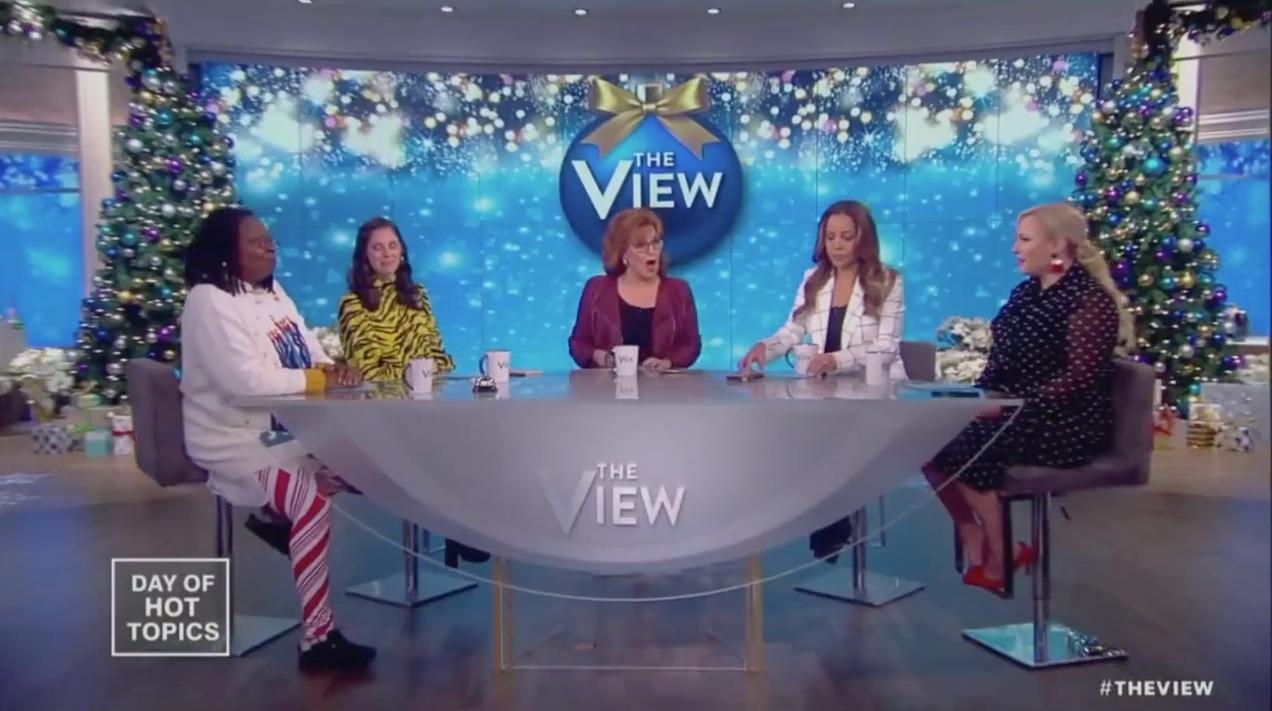 'The View' (ABC Screenshot: December 3, 2018)
