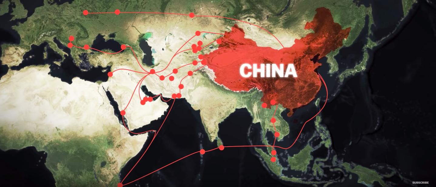 China's trillion dollar plan to dominate global trade/ Vox Atlas YouTube