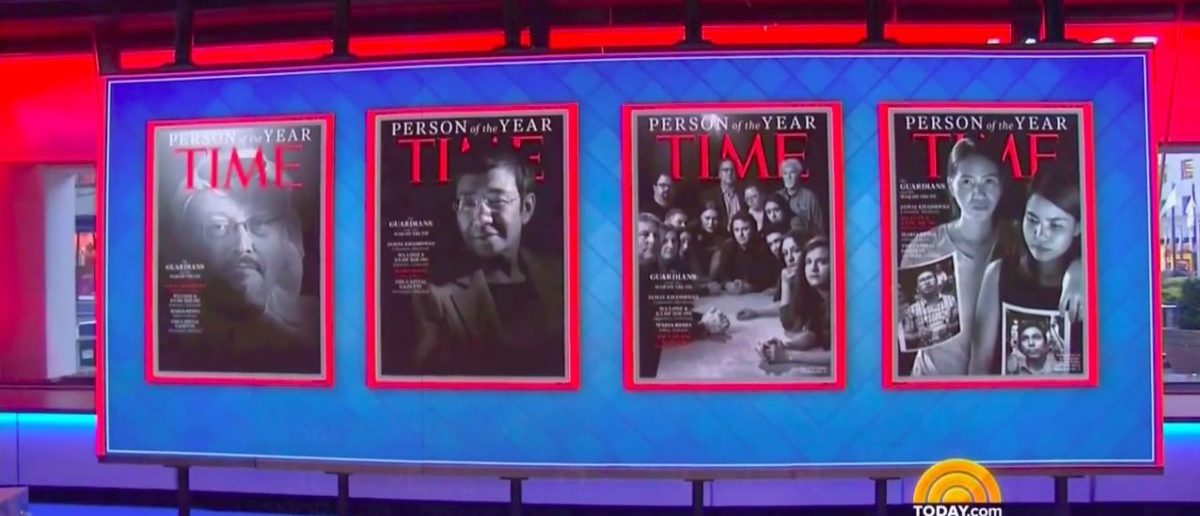 'The Guardians' Are Time's 2018 Person Of The Year
