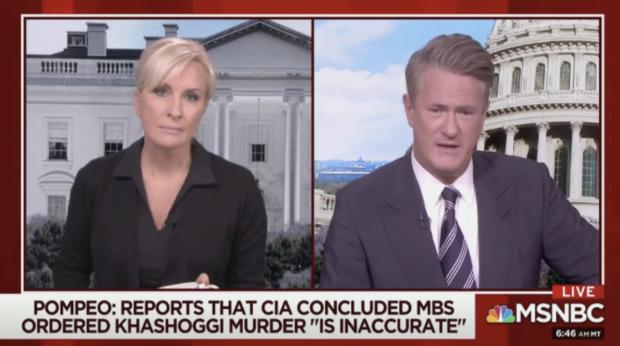 Mika Brzezinski and Joe Scarborough on Morning Joe (MSNBC 12/11/2018)