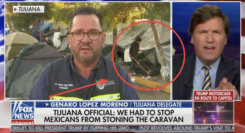 Tijuana official Genaro Lopez on Tucker Carlson (Fox News 12/3/2018)