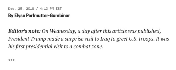 NBC News Editor's Note (Screenshot: December 26, 2018)