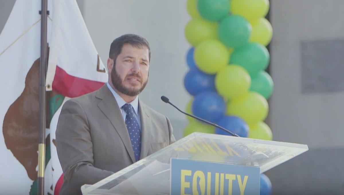 Screen Shot:Joaquin Arambula Speaks In California:Youtube
