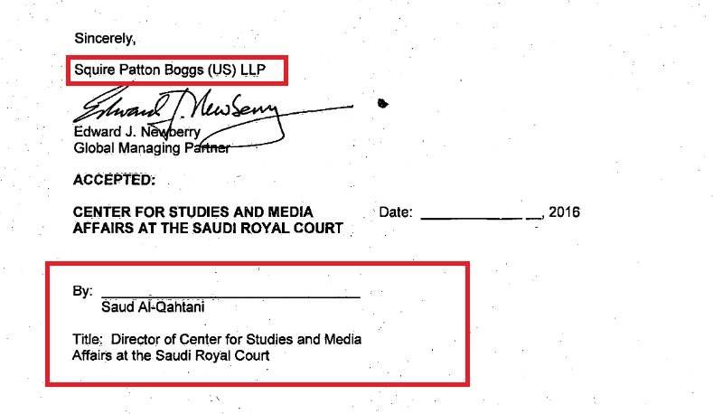 FARA document obtained by The Daily Caller
