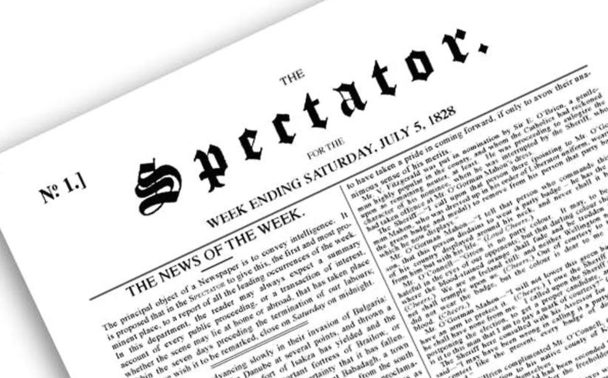 The Spectator's first edition