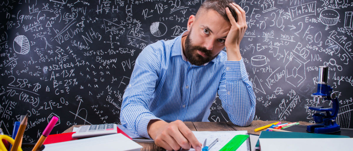 A recent survey found teachers would not recommend their jobs to others. SHUTTERSTOCK/Halfpoint