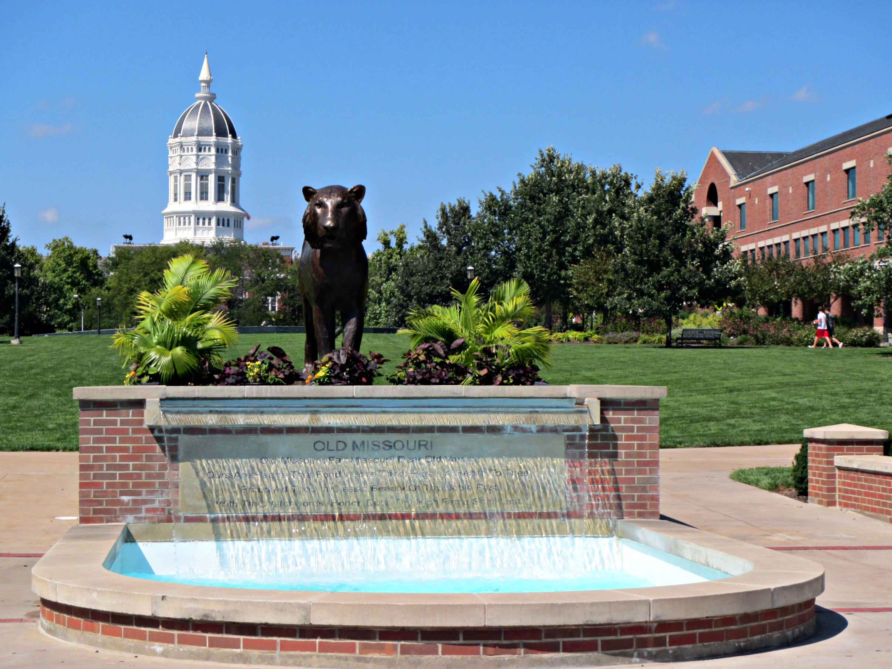 The University of Missouri campus as seen in 2014. (CameliaTWU/Flickr creative commons) https://creativecommons.org/licenses/by-nc-nd/2.0/